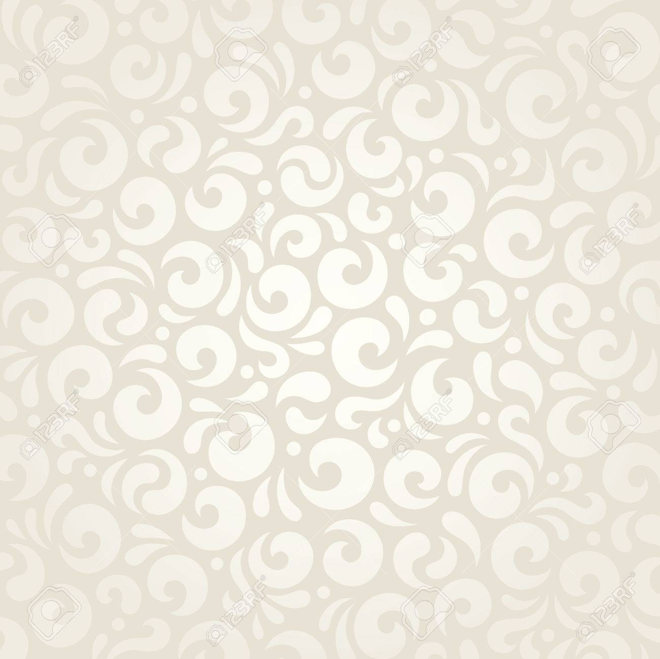 Wedding Retro Pale Wallpaper Decorative Pattern Design Royalty