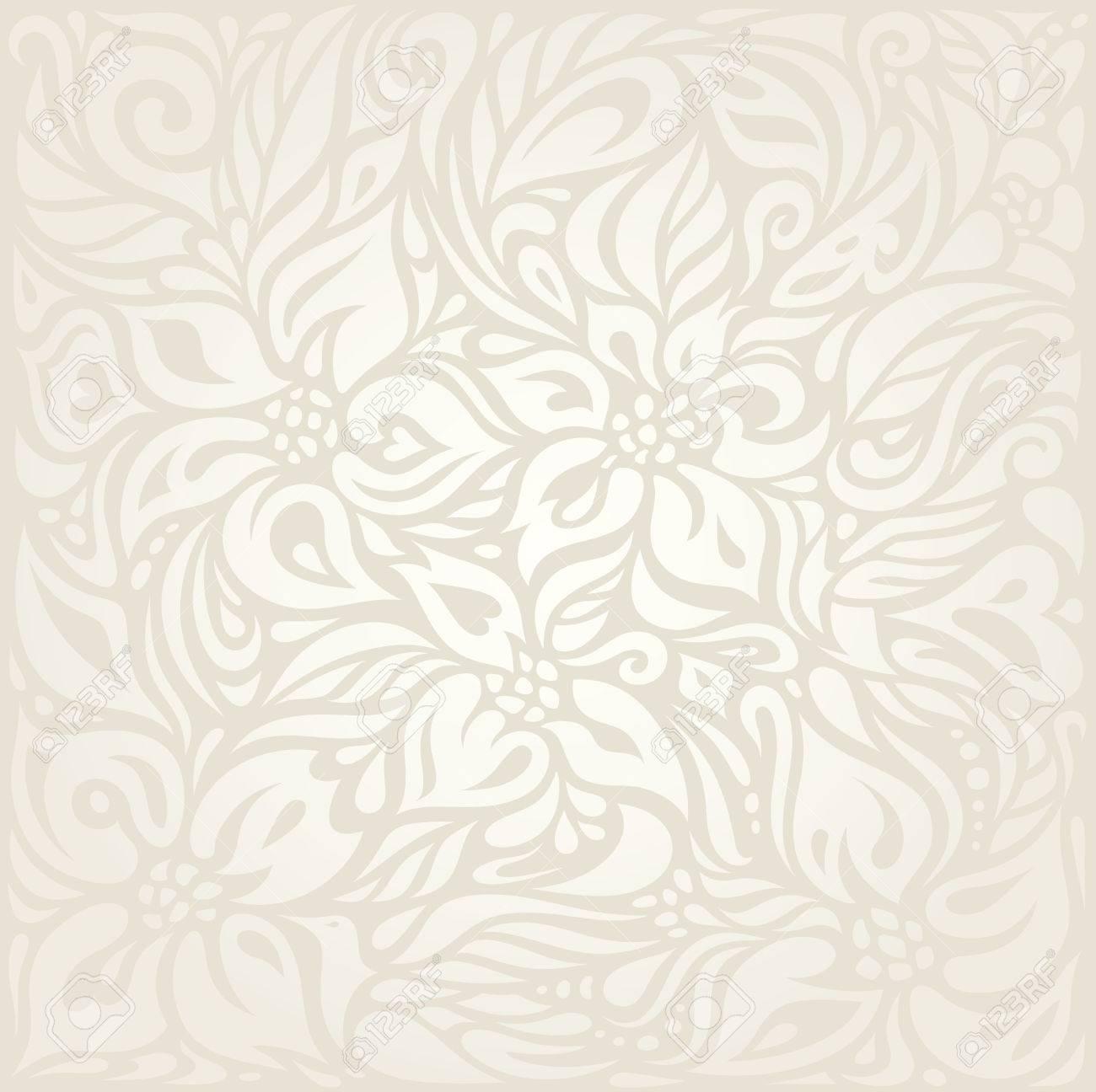 結婚式の花の淡い壁紙パターン設計の背景のイラスト素材 ベクタ