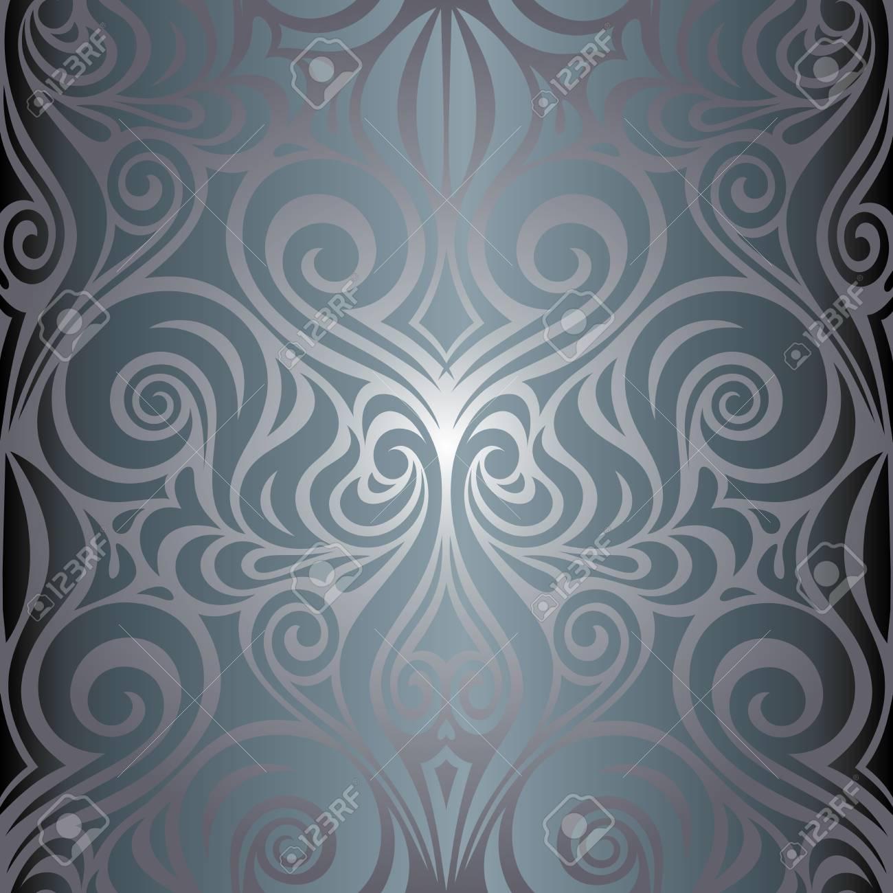 Silver anniversary shiny decorative vintage wallpaper Background..