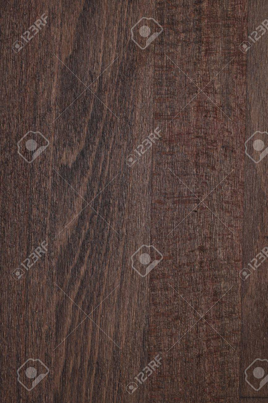 Texture Of Beech Wood Toned By Dark Walnut Stain Stock Photo