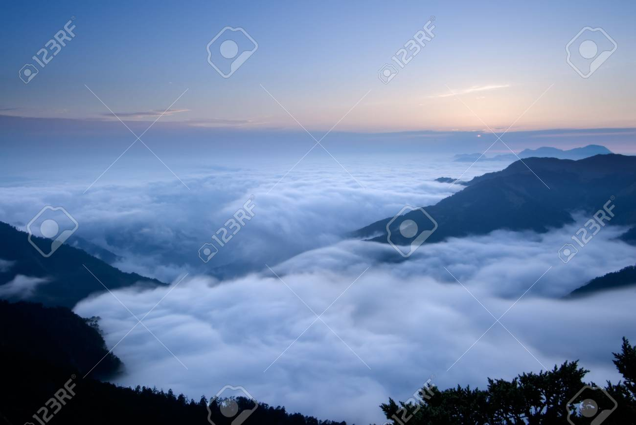 It is beautiful mountain landscape full of clouds. Stock Photo - 4825132