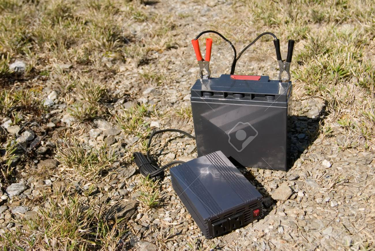 It is a battery in the outdoors. Stock Photo - 4839894