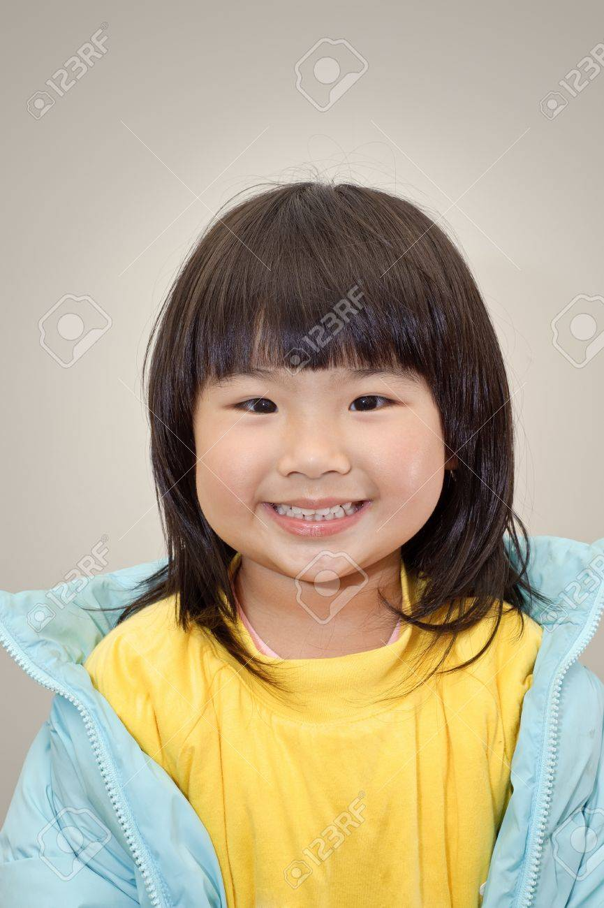 Asian smiling face — 7