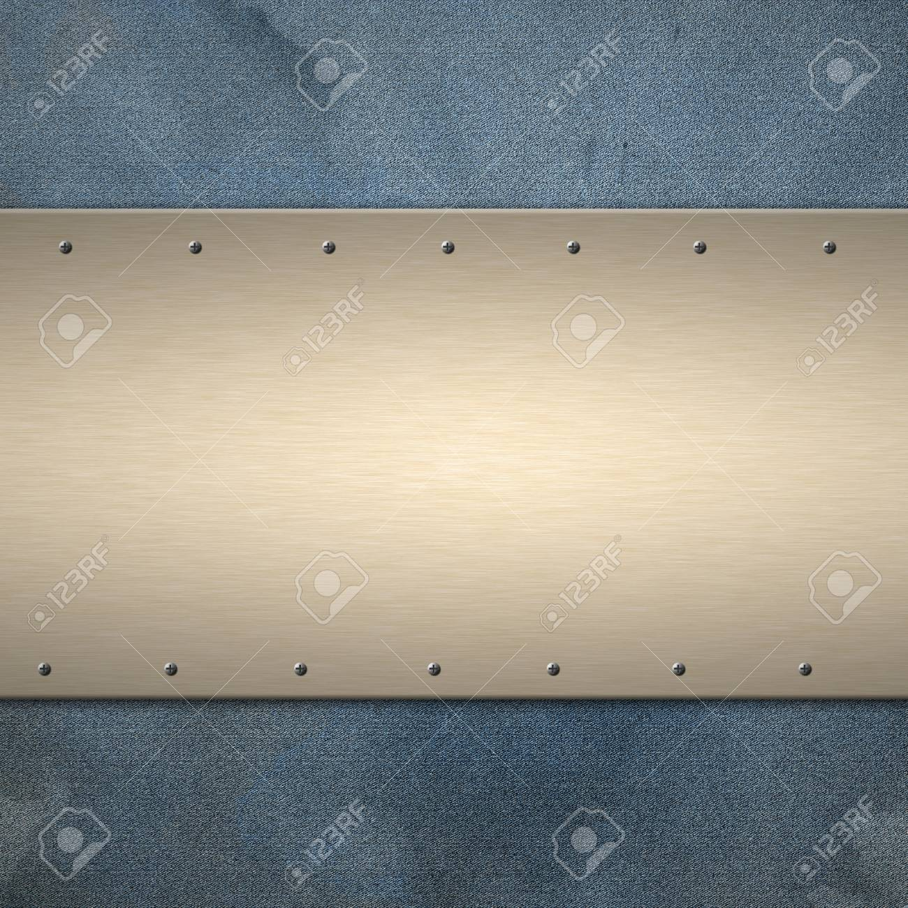 Metal textured background with copyspace. Stock Photo - 20708941