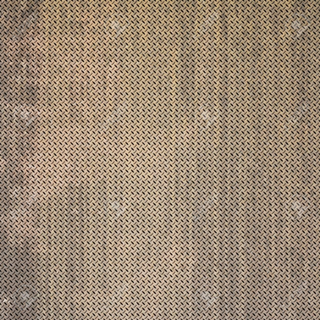 Background of metal diamond plate in grungy color. Stock Photo - 24662734