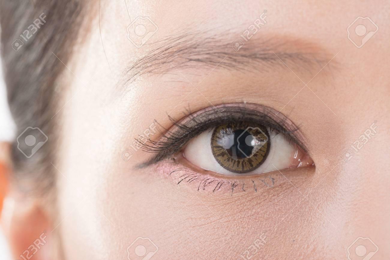 Asian close up