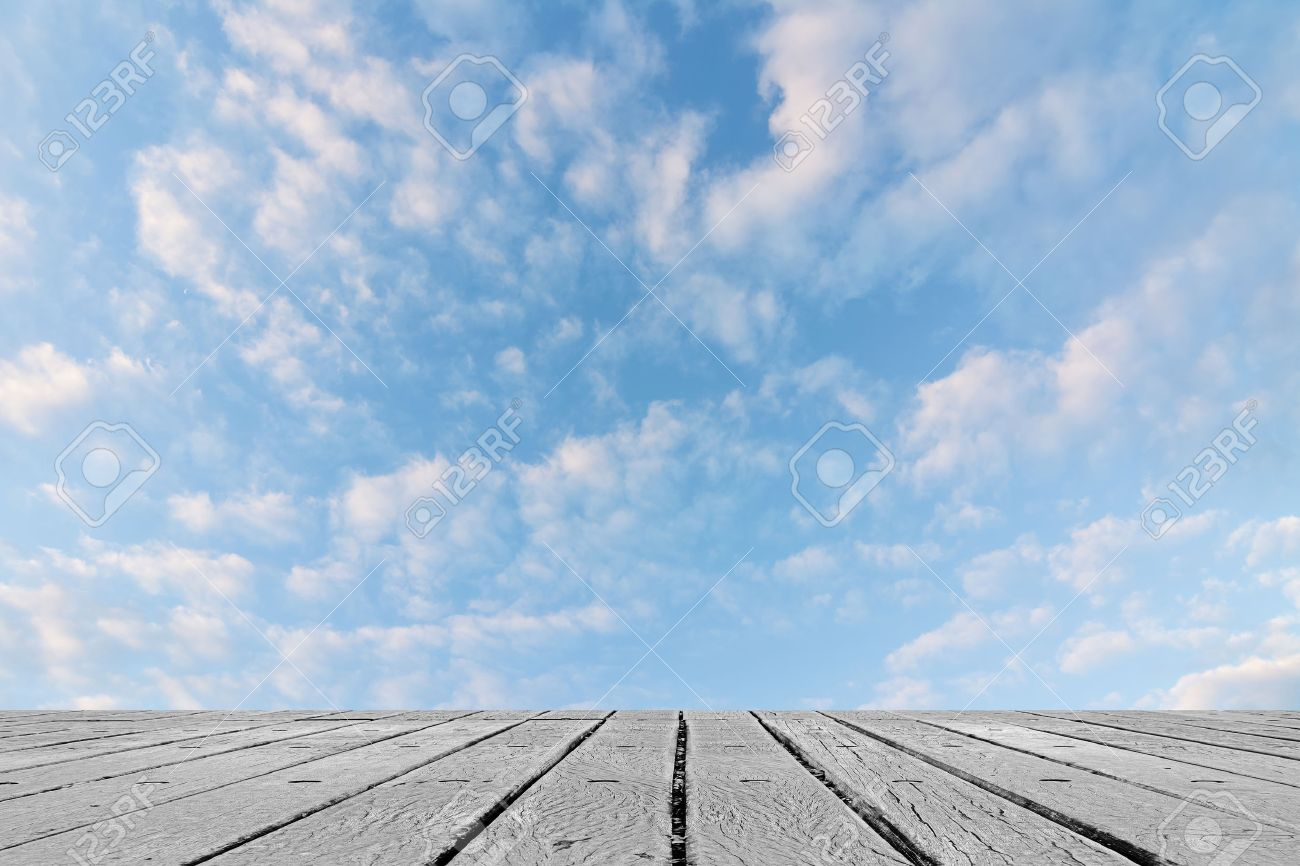 scenic of clouds on heaven above the ground good background stock