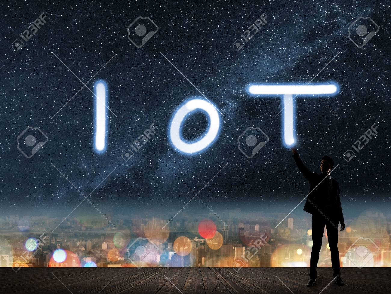 Concept of IOT, internet of things. - 49931783
