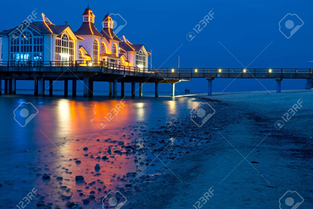 The pier of Sellin Stock Photo - 13228760