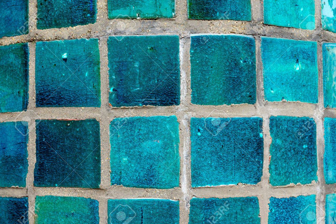 Turquoise Tiles Stock Photo, Picture And Royalty Free Image. Image ...