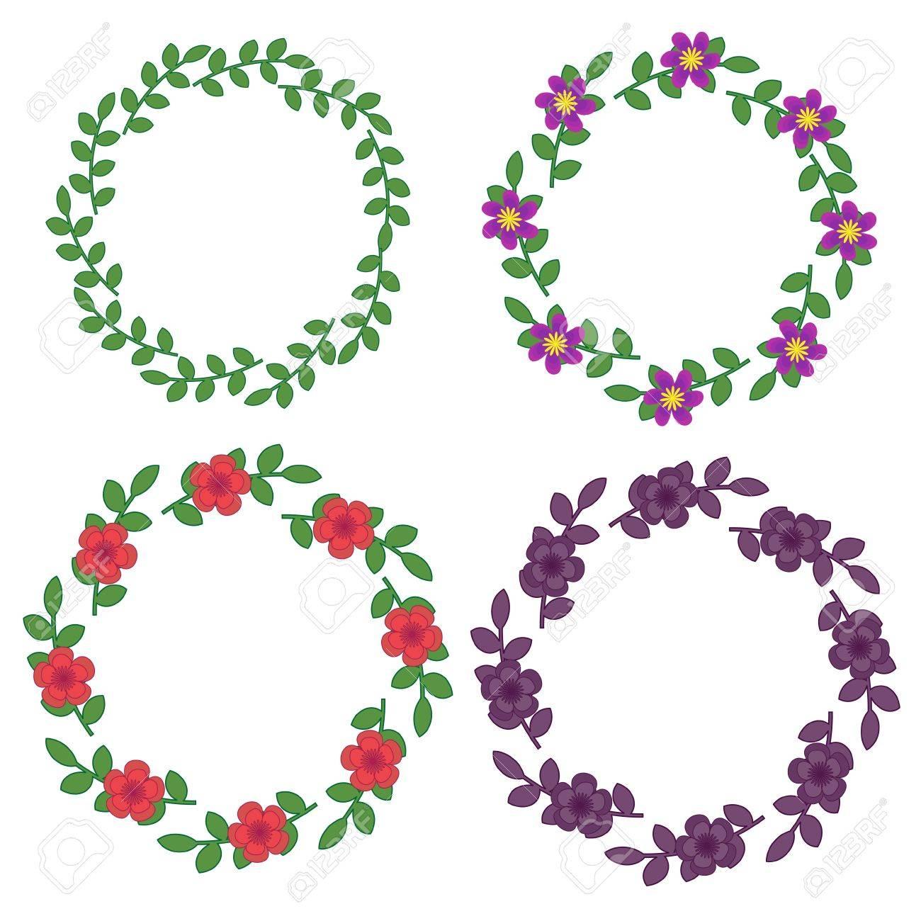 Decorative floral frames Stock Vector - 14072435