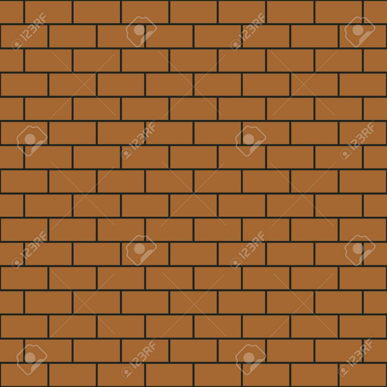 Seamless pattern simple brick wall Stock Photo - 21505698