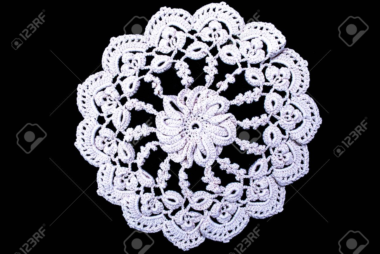 Free Crochet Round Tablecloth Patterns Interesting Inspiration Design
