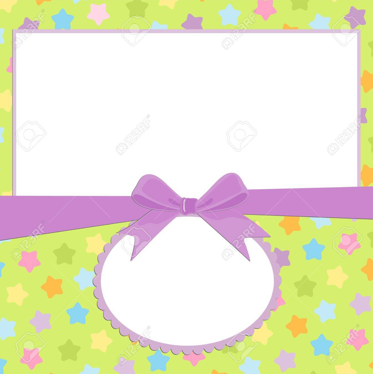 Blank background for greetings card, postcard or photo frame Stock Vector - 8180921