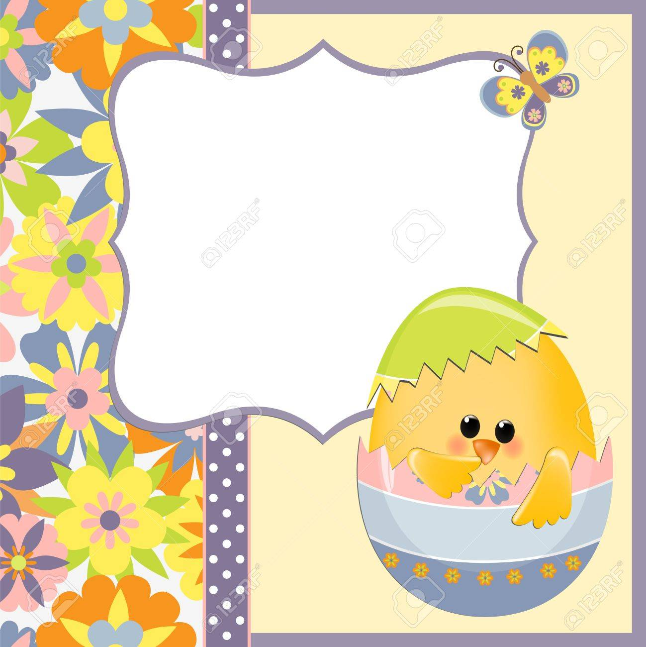 Doc13001390 Easter Greeting Card Template Template Easter – Easter Greeting Card Template