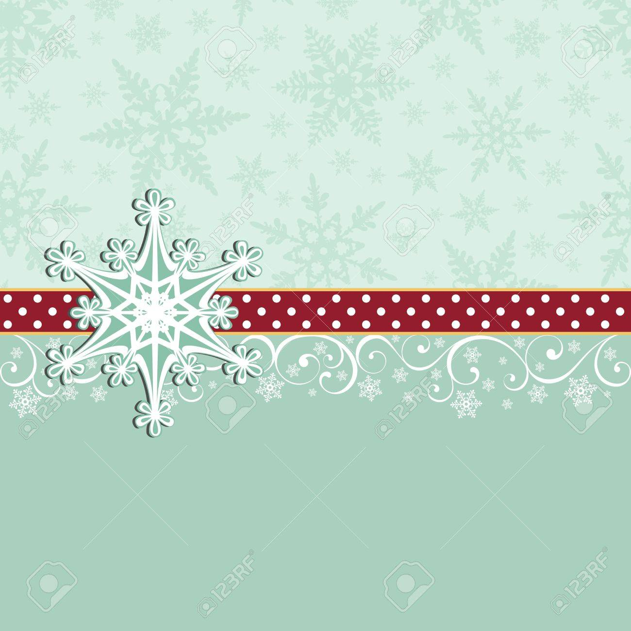 cute christmas new year postcard template stock vector 15698143