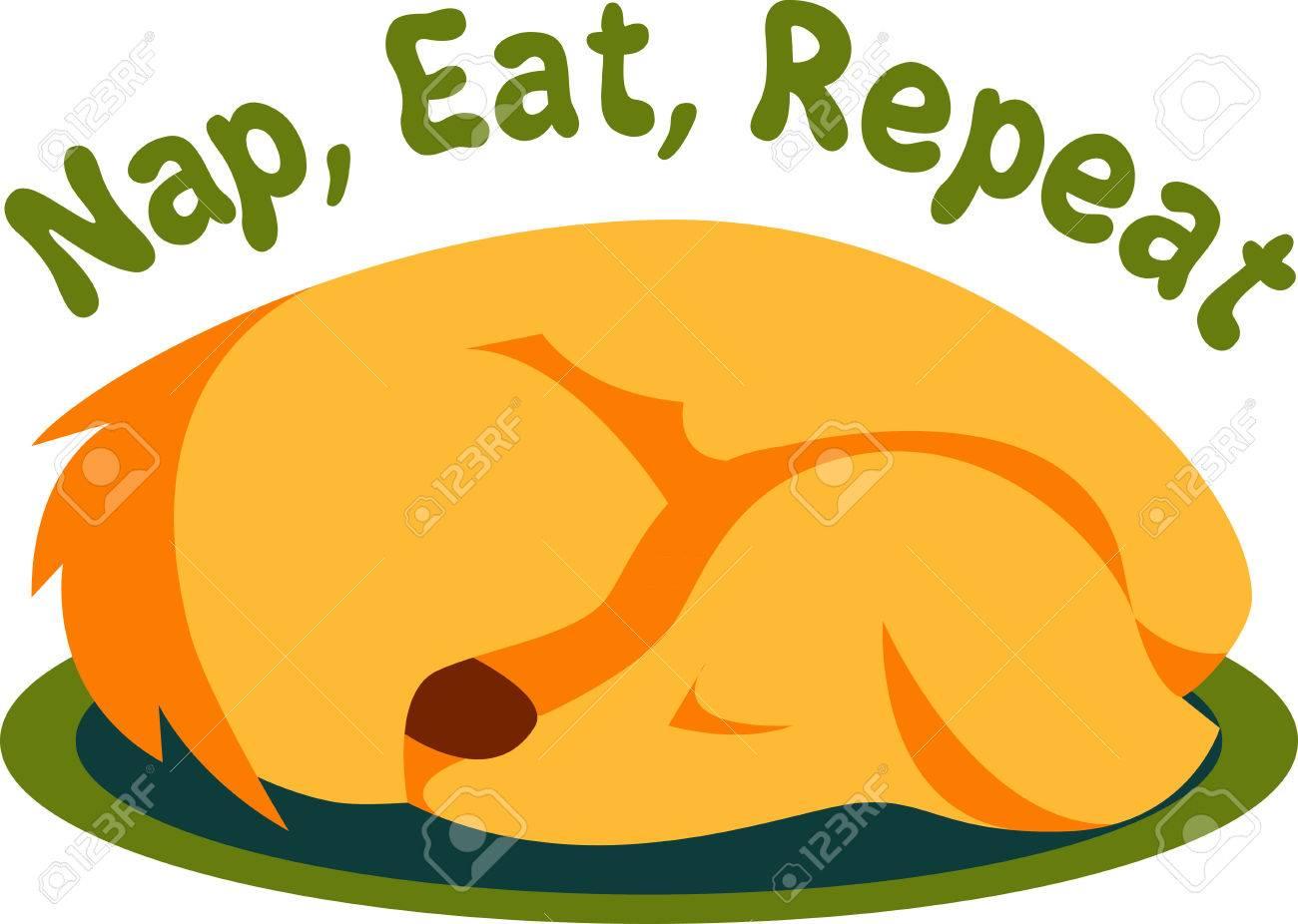 Cane Che Dorme Disegno.Vettoriale Se Vi Piace La Visualizzazione Di Cane Che Dorme