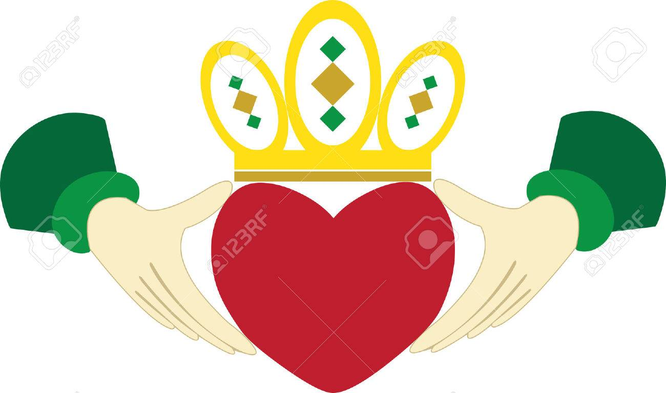 79 Claddagh Stock Vector Illustration And Royalty Free Claddagh Clipart