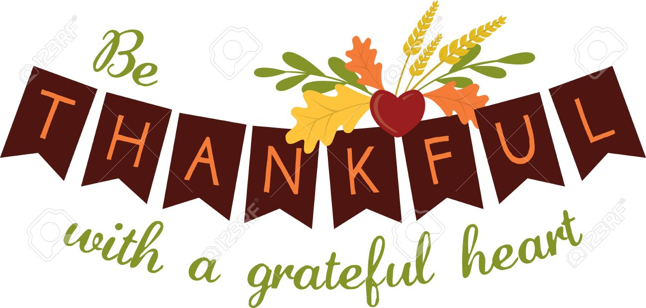 Use This Thankful Banner Design To Help Celebrate Thanksgiving ...