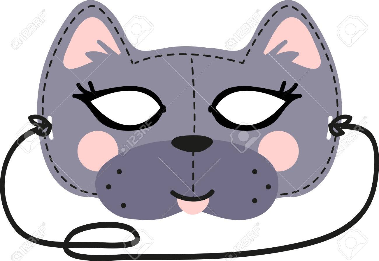 This Fun Cat Mask Is Perfect For Children To Make For Halloween ...