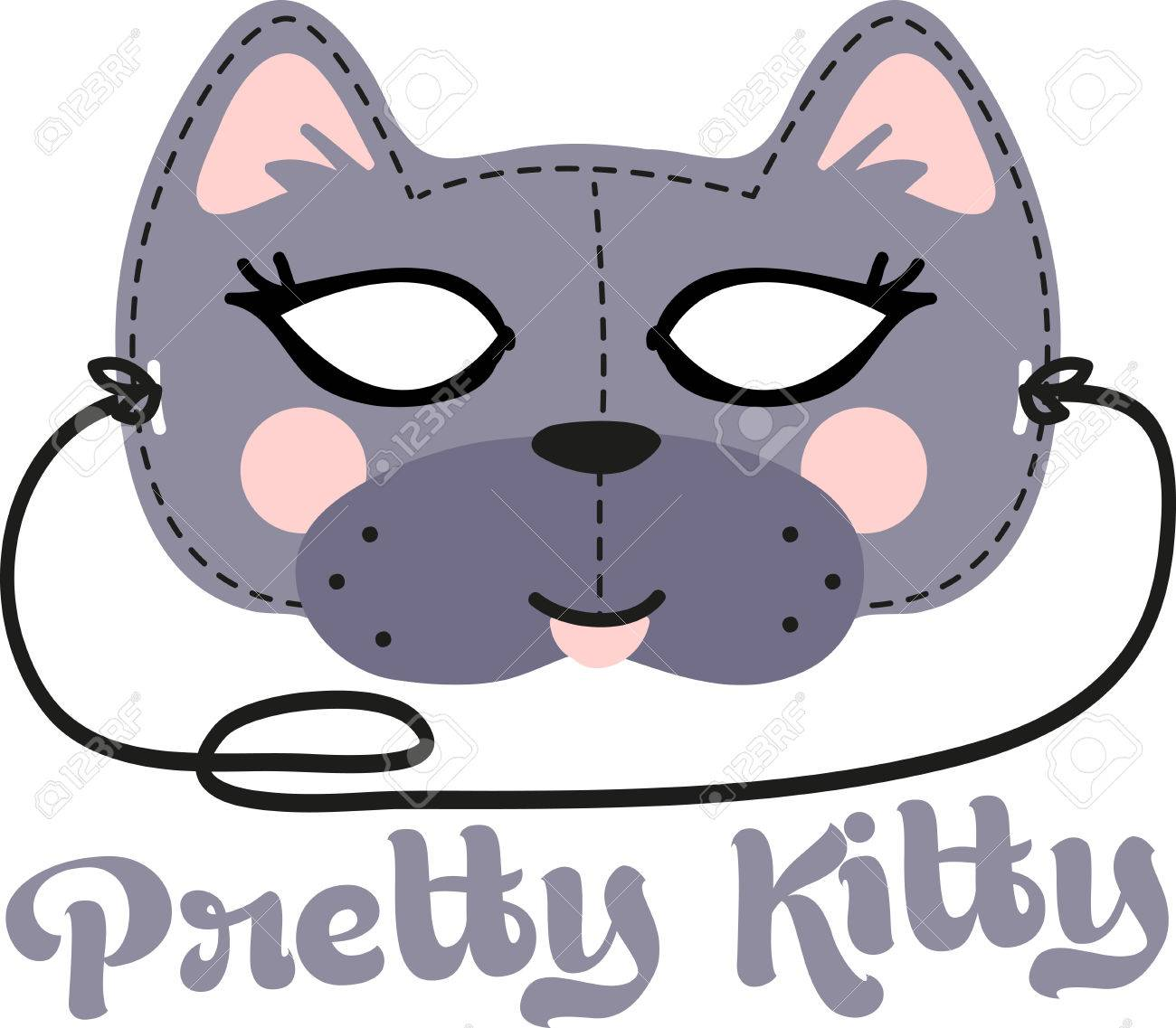 This fun Cat Mask is perfect for children to make for Halloween. - 41569408
