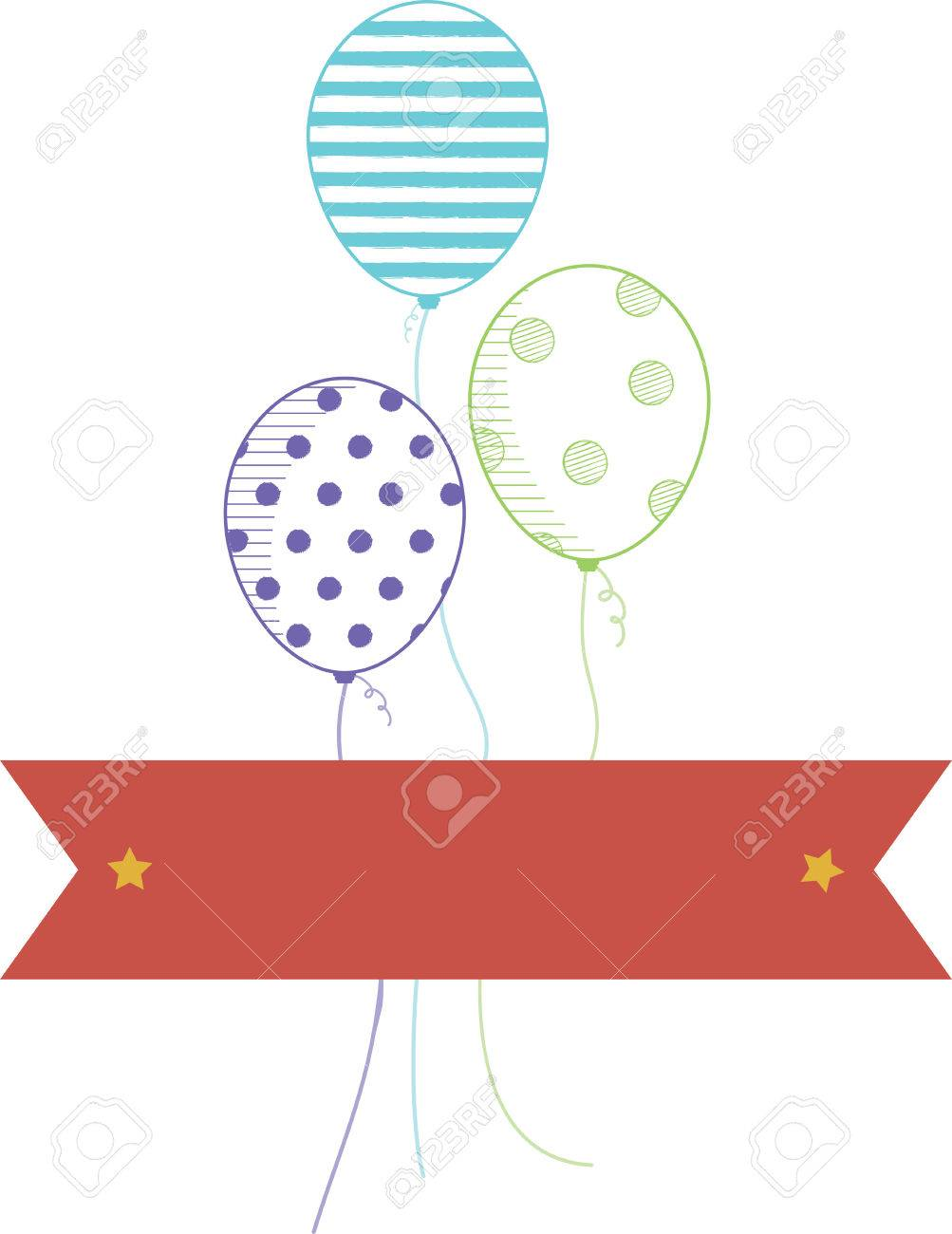Our Cheery Balloons Deliver A Perfect Birthday Wish To Lucky Girl Stitch It On