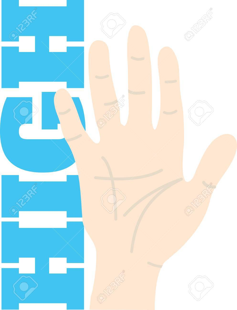 Heres A High Five To Add A Touch Of Fun For Your Embroidery