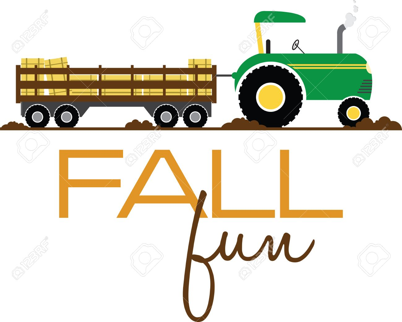 have fun on this tractor hayride to your pumpkin patch project rh 123rf com free clipart hayride Goodies Clip Art