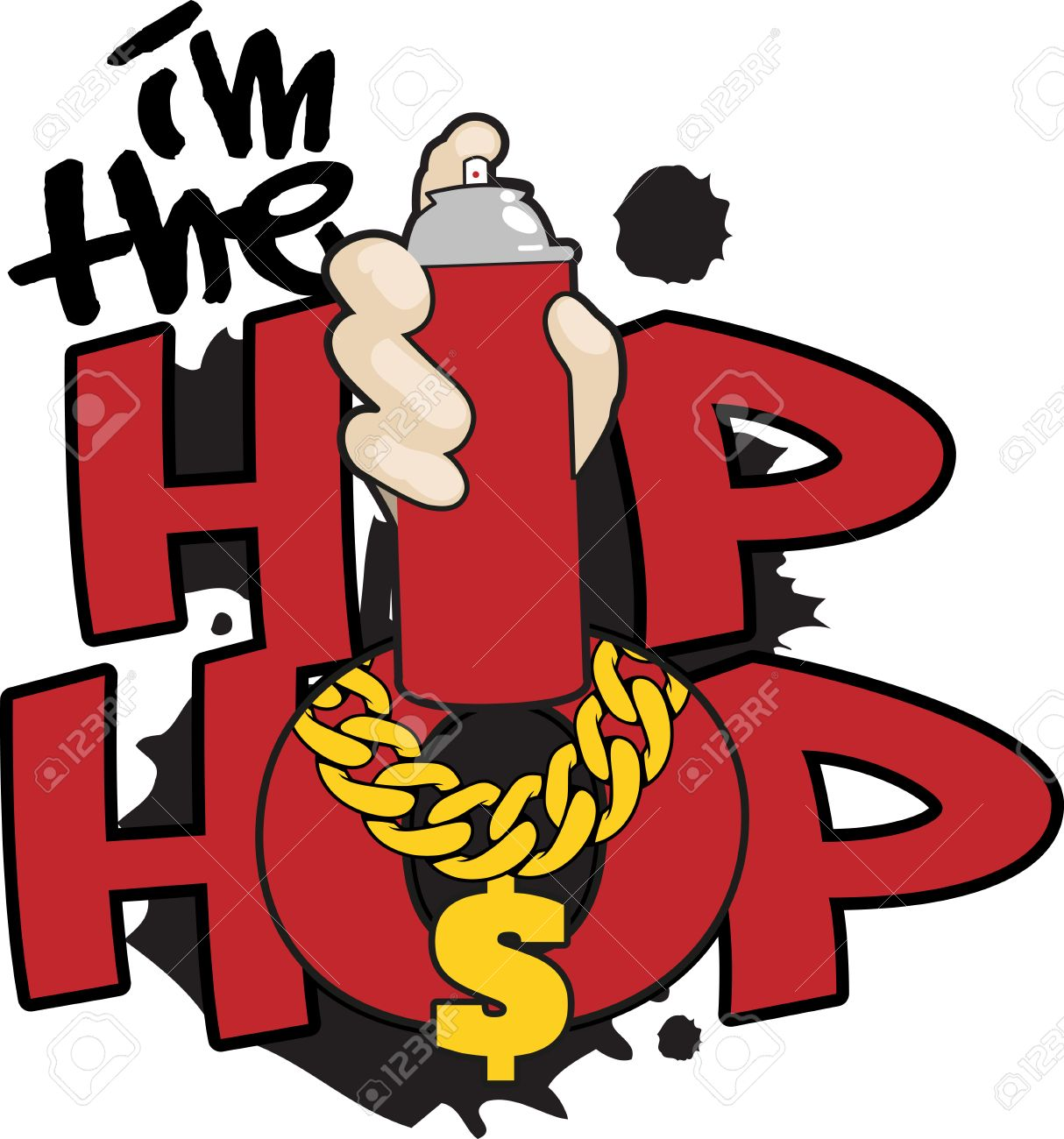 Hip Hop Words And Symbols For Music Fans Royalty Free Cliparts Vectors And Stock Illustration Image 42407917