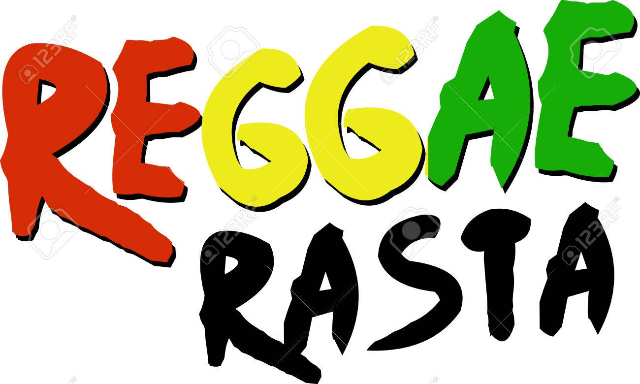 reggae word with rasta colors for music fans. royalty free cliparts,  vectors, and stock illustration. image 42407728.  123rf