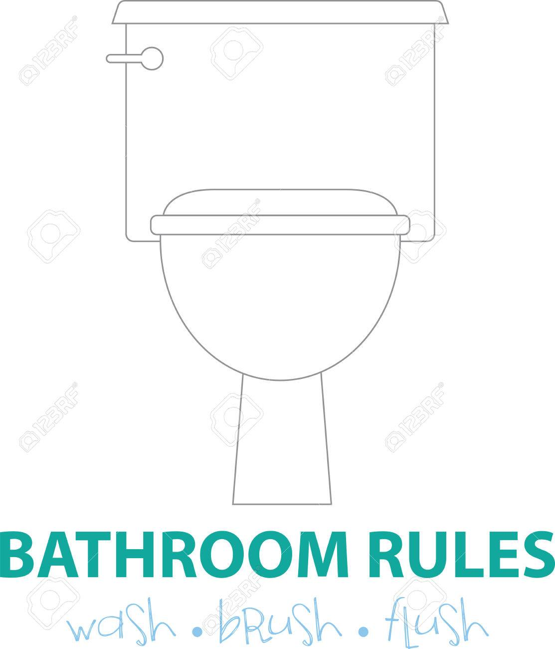 Toilet Of Wc Etiquette.Toilet Etiquette Is All About Hygiene And Cleanliness So Get