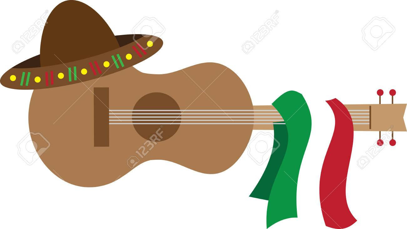 Get The Spanish Guitar And Make Your Favorite Music Pick Those Designs By Embroidery Patterns