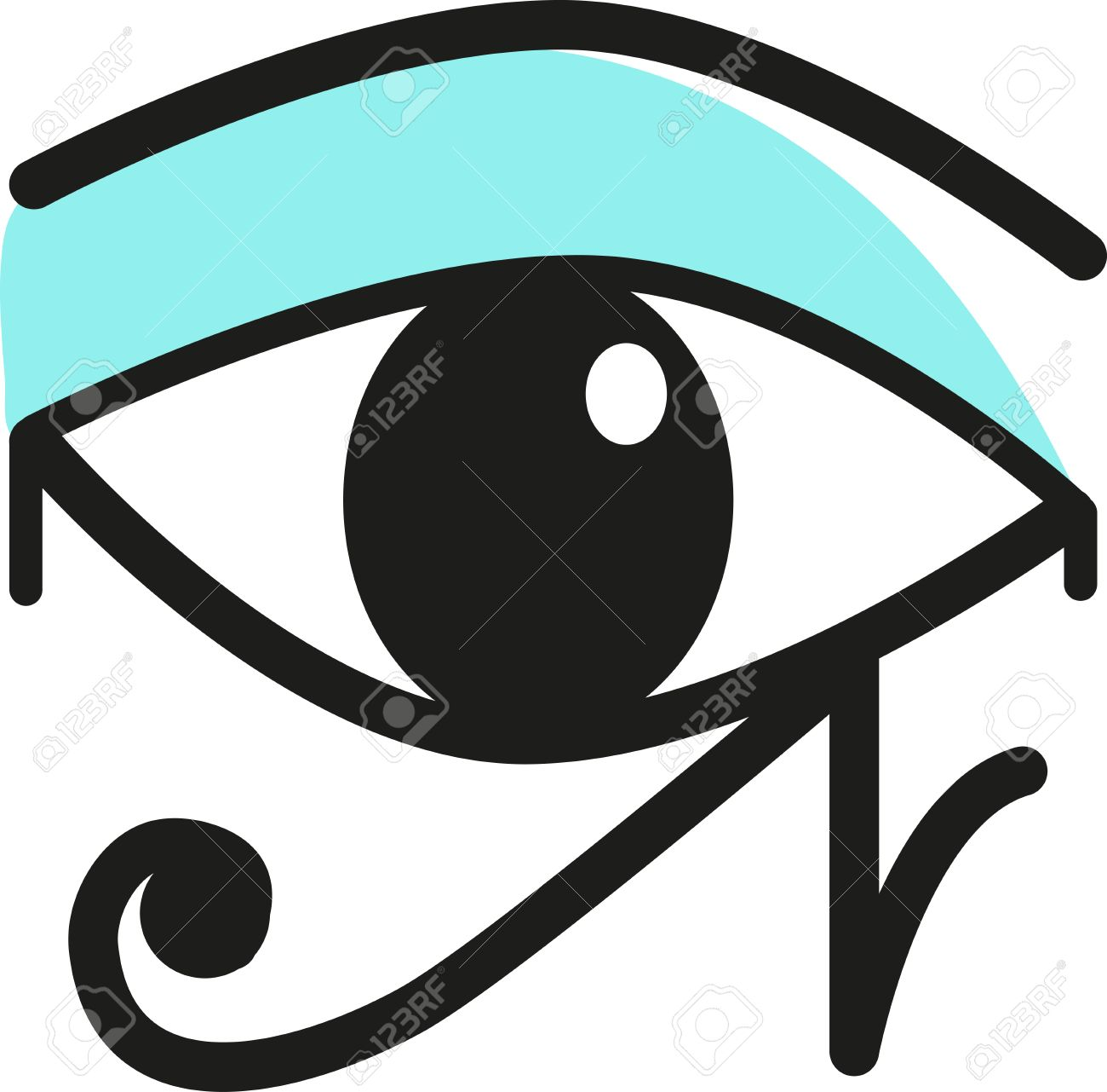 The eye of horus is an ancient egyptian symbol of protection the eye of horus is an ancient egyptian symbol of protection royal power and good buycottarizona Image collections