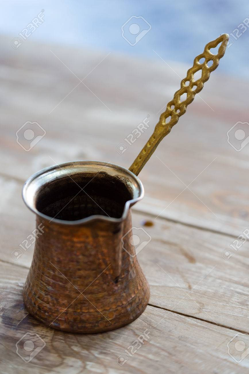 This Lebanese Arabic Coffee Pot Is Used To Boil And Serve Finely
