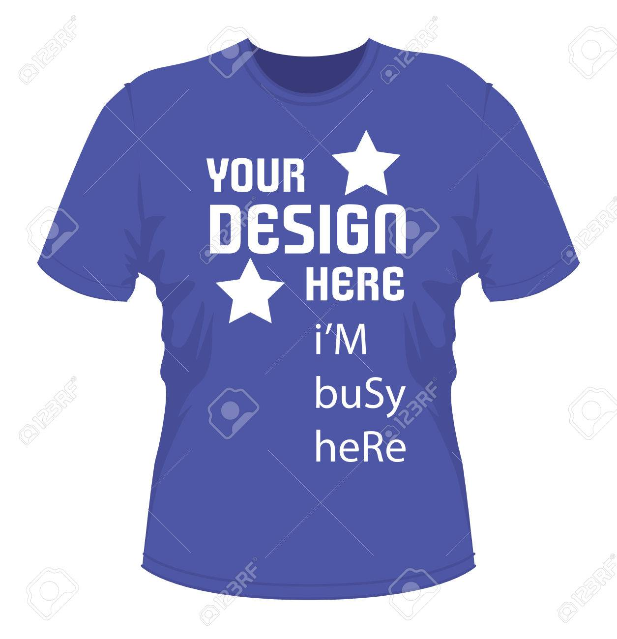 Shirt design eps - T Shirt Design With Text Vector Eps File Fully Editable Stock Vector 42537565