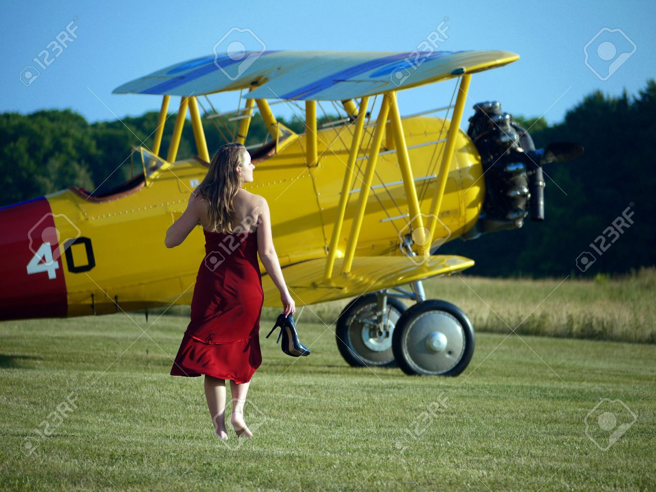 Model by Antique Airplane