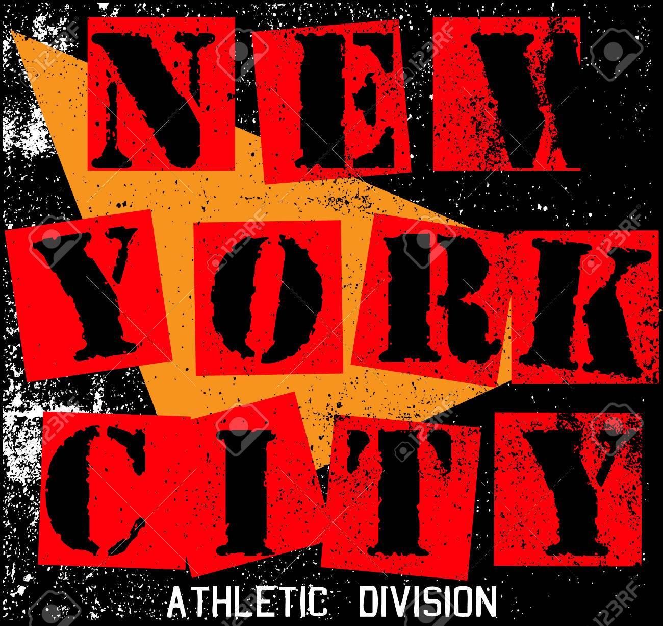 Design a t shirt nyc - New York City Texture T Shirt Graphic Design Stock Vector 32485644