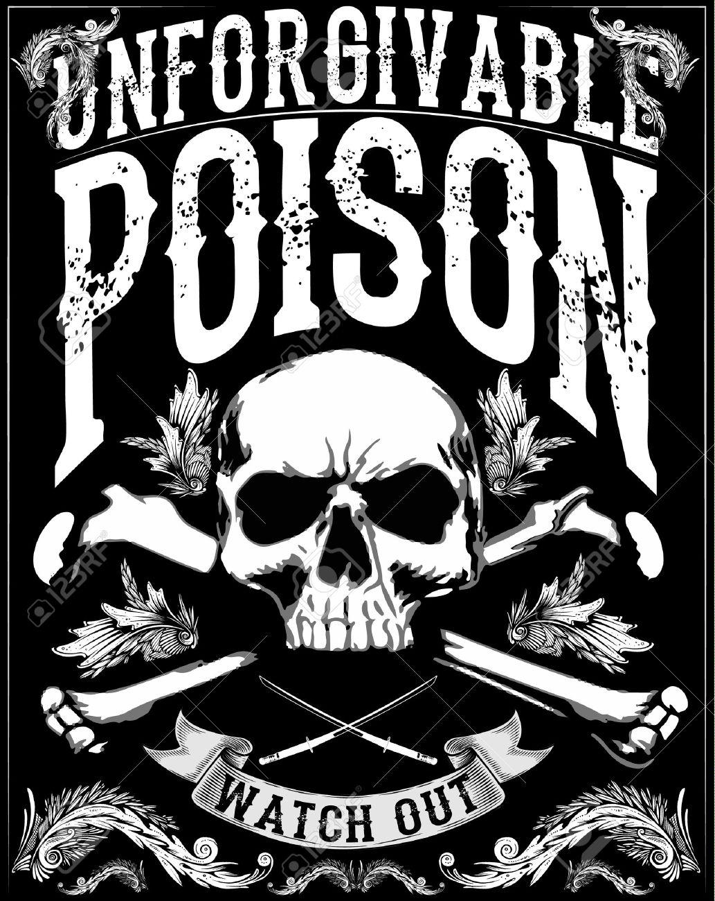 skull print/skull illustration/evil skull/concert posters/skull canvas print/skull tattoo/skull art/watercolor skull/Black grunge vector skull/Human skull on isolated white background/T-shirt Graphics - 55093682