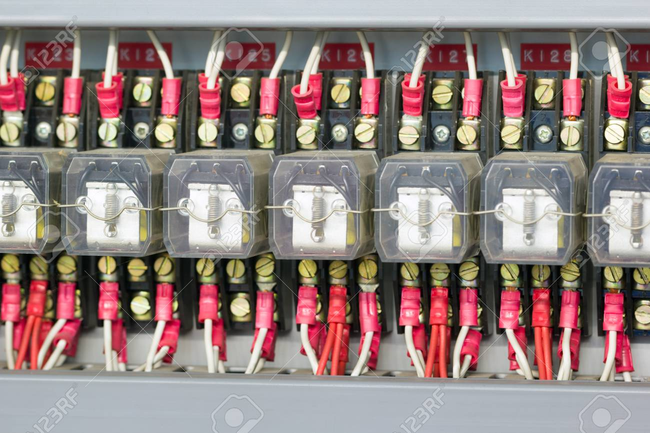 Industrial electrical relays. - 34818156