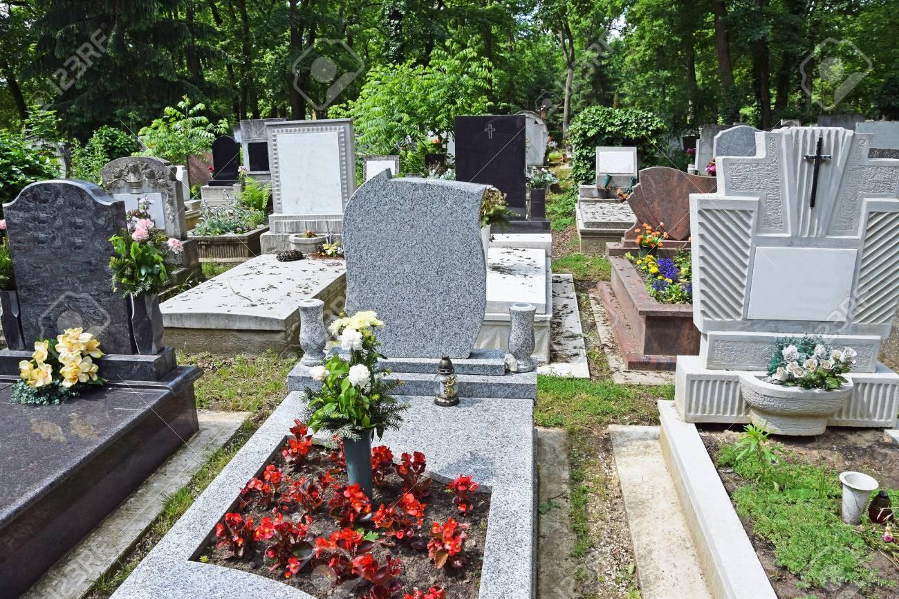 Friedhof 50411 Resin N 1:160 Gräber Grabsteine Sarg