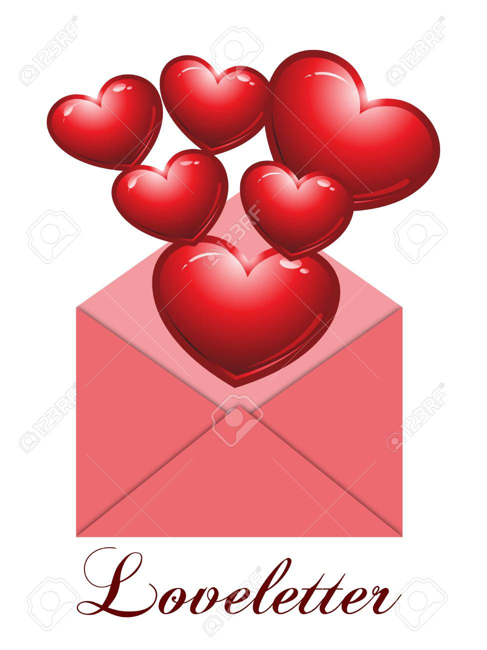 Loveletter Stock Vector - 16335904