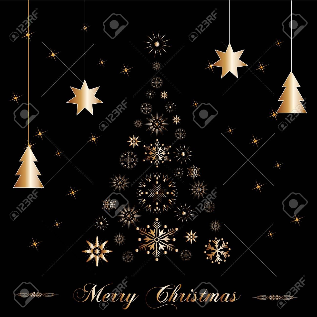 beautiful christmas tree Stock Vector - 16637808