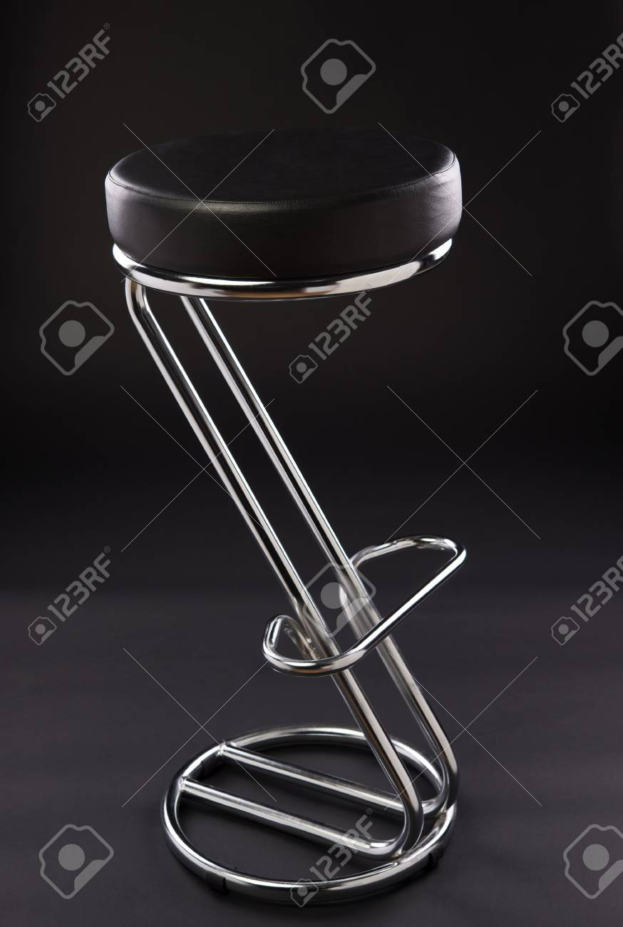 chair isolated on black background Stock Photo - 17900342