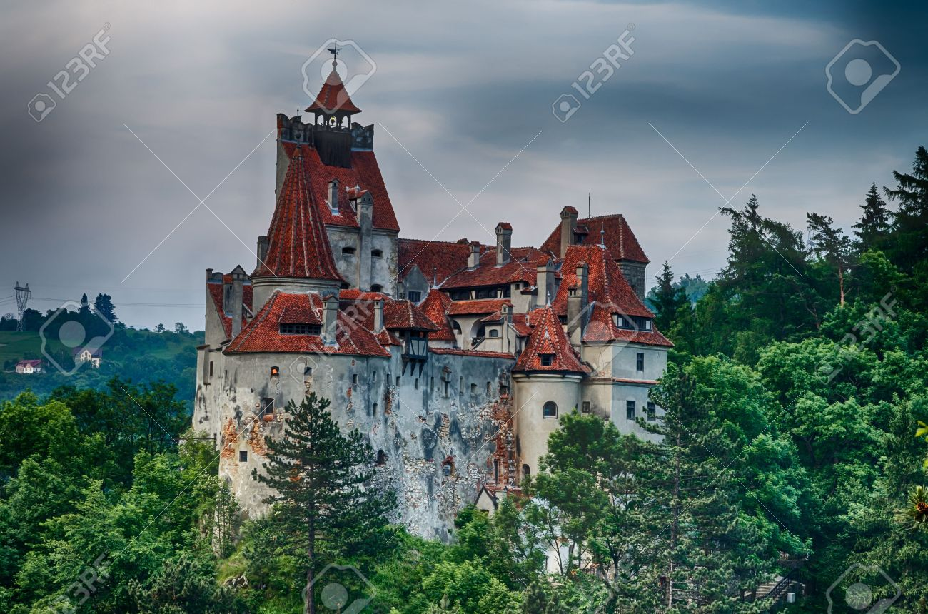 Medieval Bran castle in Romania Stock Photo - 14500514