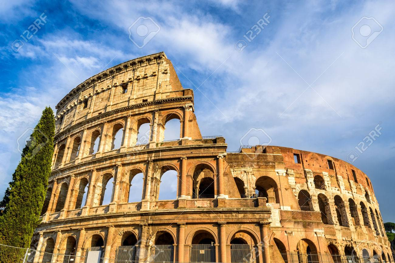 Colosseum rome italy spectacular view of coliseum elliptical colosseum rome italy spectacular view of coliseum elliptical largest amphitheatre of roman empire ancient civilization publicscrutiny Images