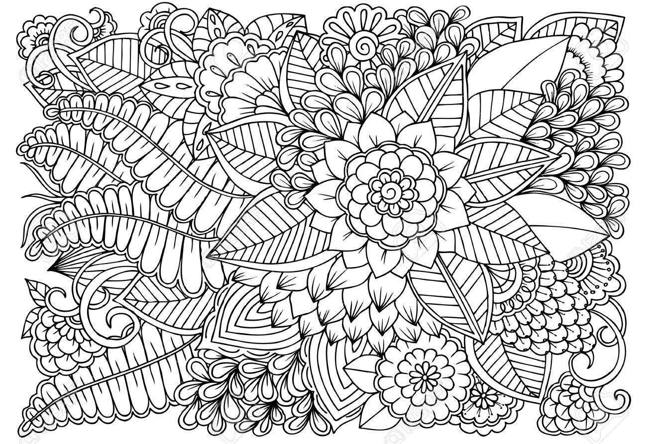 Coloring Picture : Beautiful Adult Books Most Pretty ...