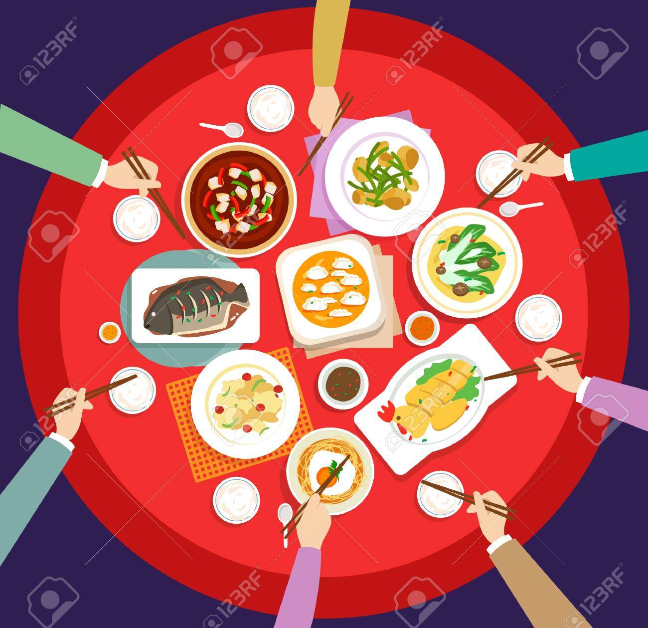New Year's Eve dinner - 111337119