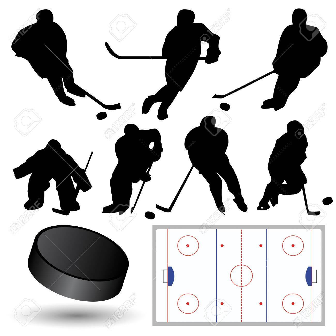 Goalie Sticks Vector Hockey