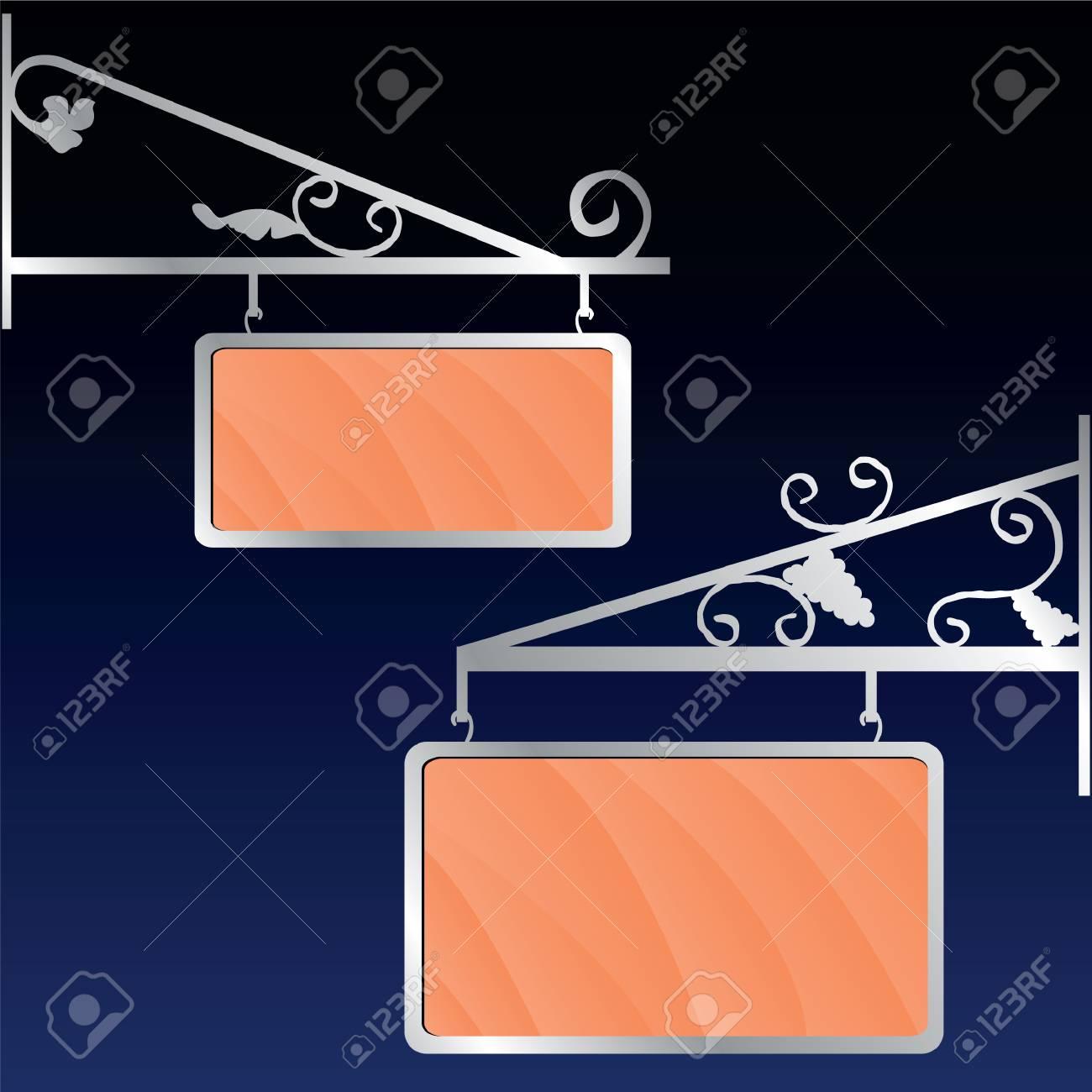 vector signboards Stock Vector - 6197976