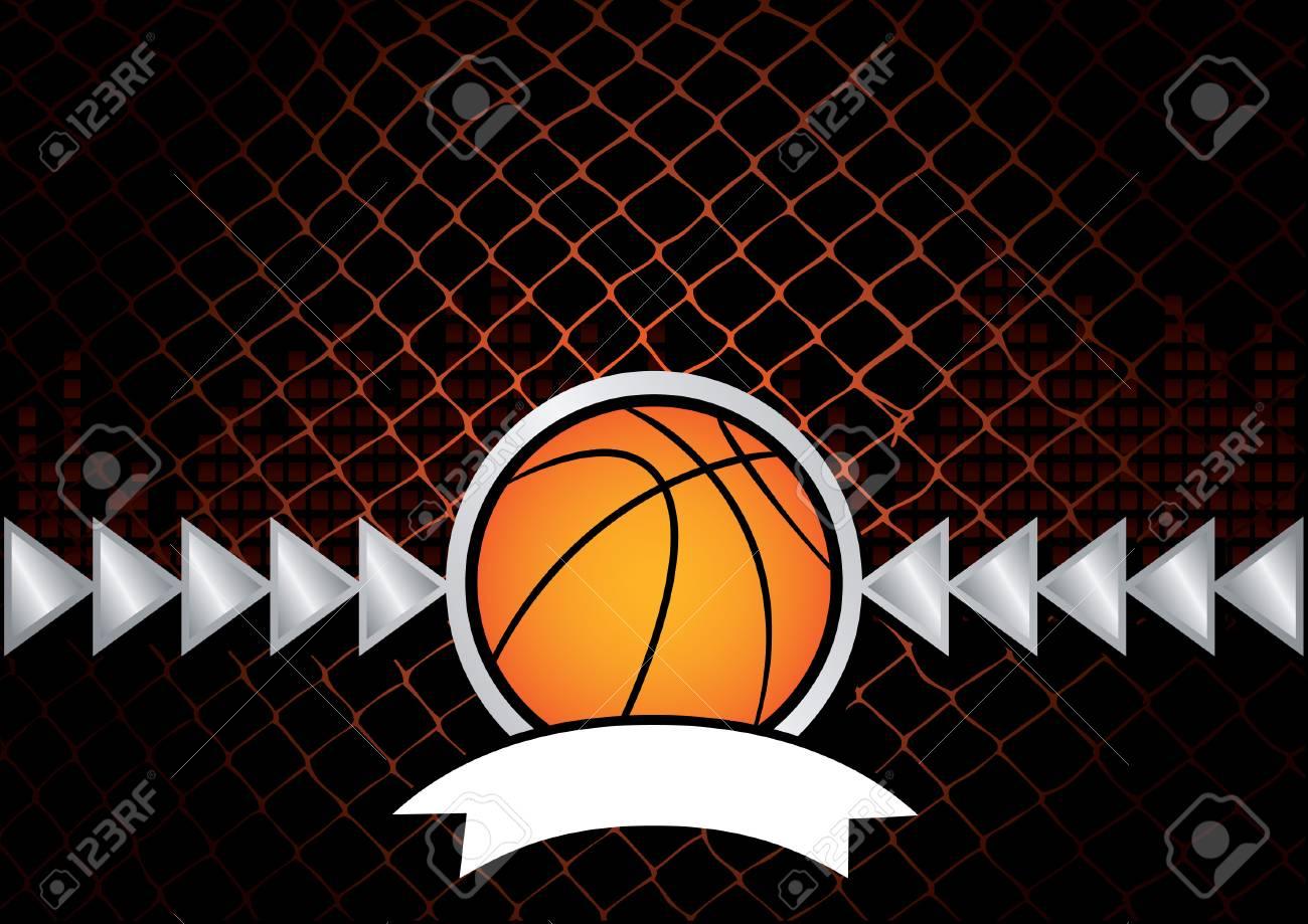 basketball Stock Vector - 6231409